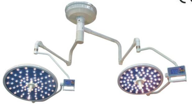 hospital medical lighting double arm led surgical light
