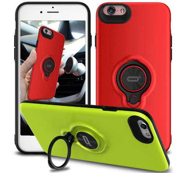 Ring Case for iPhone6, 360 Rotate Ring phone case for iphone 6 6s Plus mobile phone cover