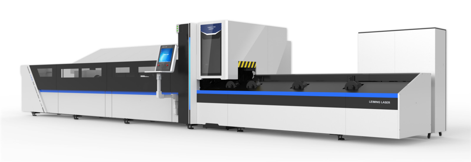Automatic fiber metal pipe laser cutting machine LMN6020T