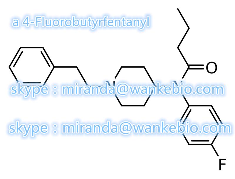 a 4-Fluorobutyrfentanyl 244195-31-1 C23H29FN2O mail/skype:miranda(@)wankebio.com