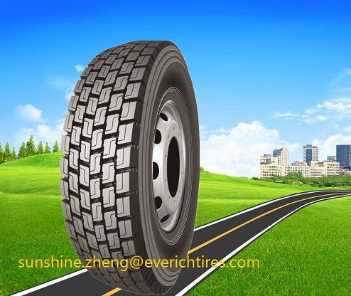 Tires, Everich Tires, Truck Tyres, Chinese All Steel Heavy Radial Tyre