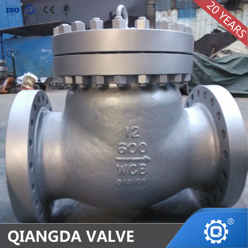 API WCB Flanged /BW Swing Check Valve Manufacturer