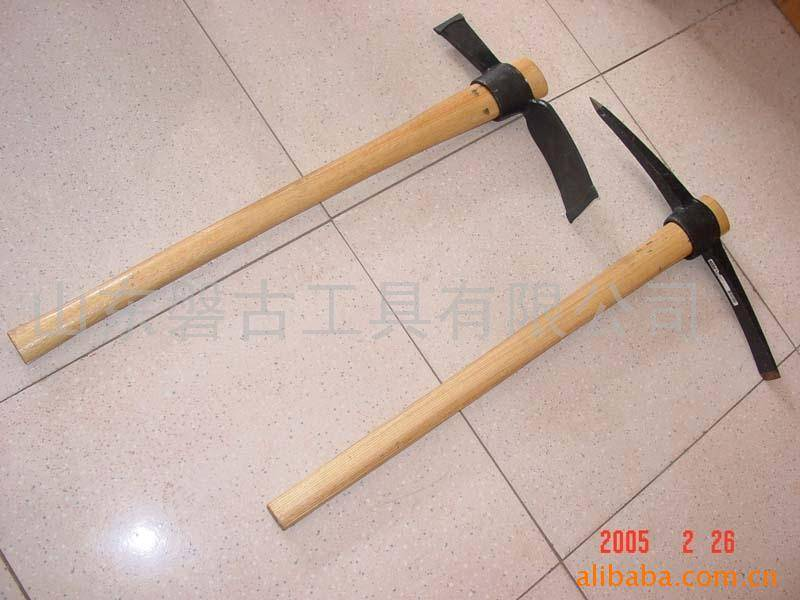 steel pick, pickaxes & mattock, pick with handle