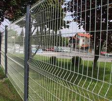 8/6/8 6/5/6 welded double wire fence 2d mesh fence
