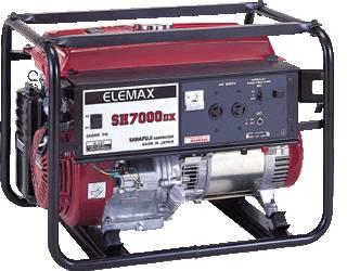 Elemax generator (SH7000DX)