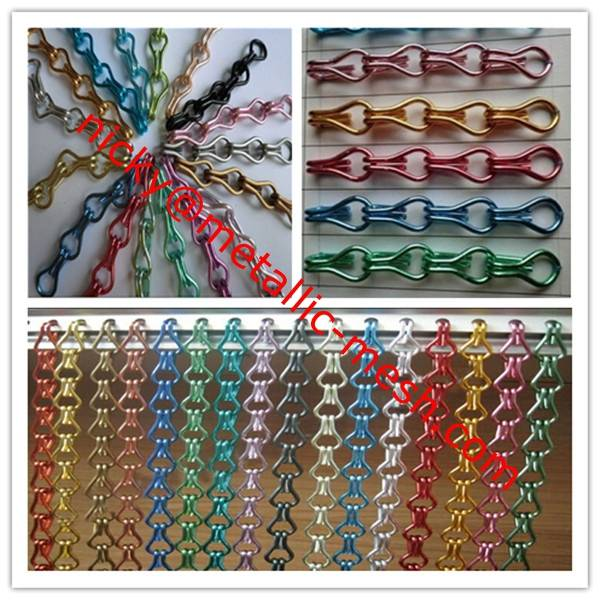 Decorative Aluminum Door Chain Screen