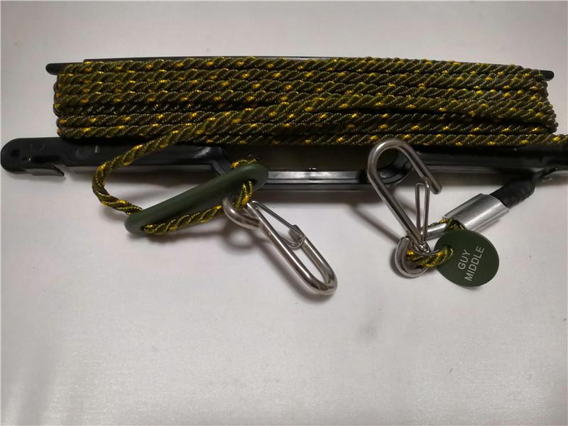 Military Whip Antenna Tie Down Signal Corps Radio