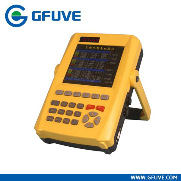 GF312D1 HANDHELD THREE PHASE ENERGY METER CALIBRATOR