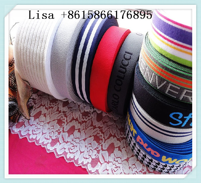 custom elastic band jacquard elastic band