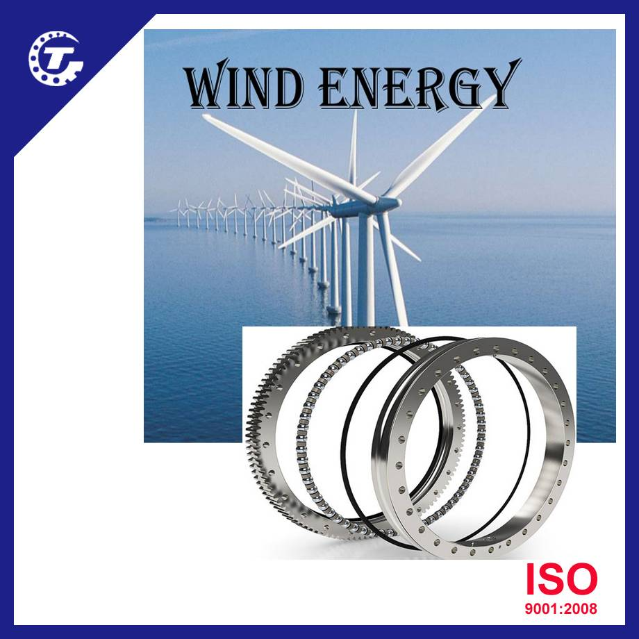 slewing bearing for wind energy