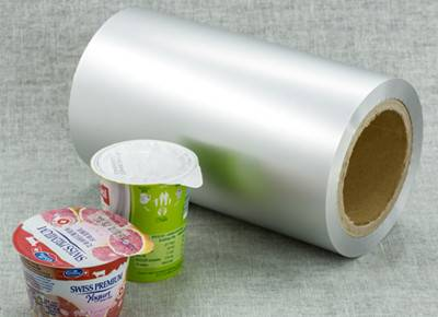 ps lacquer aluminium foil for yogurt lid