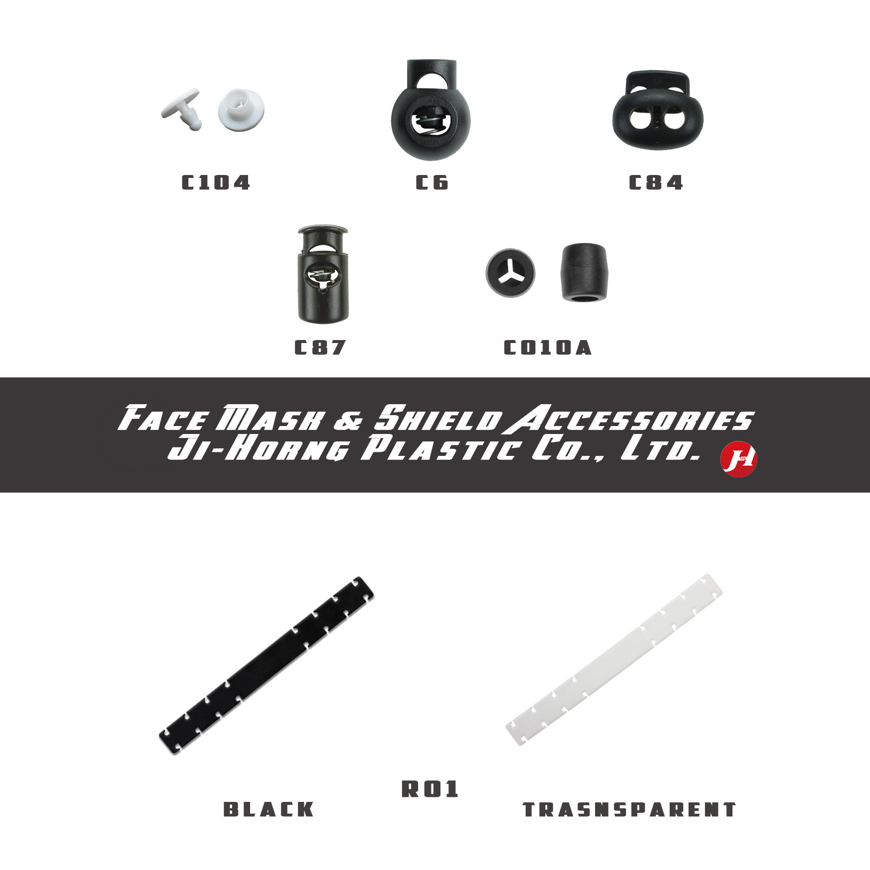 Face Mask & Face Shield Accessories