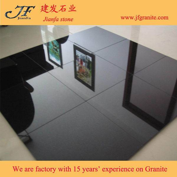 Good Quality Shanxi Black Granite Floor Tiles 60*60 Design