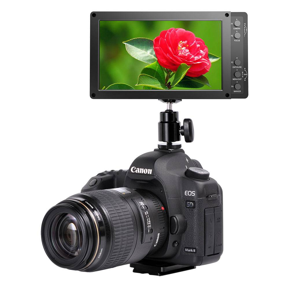 "BBDTECH 5.5"" Field Monitor, Full HD 1920 x 1080 On Camera Monitor, Monitor for DSLR"