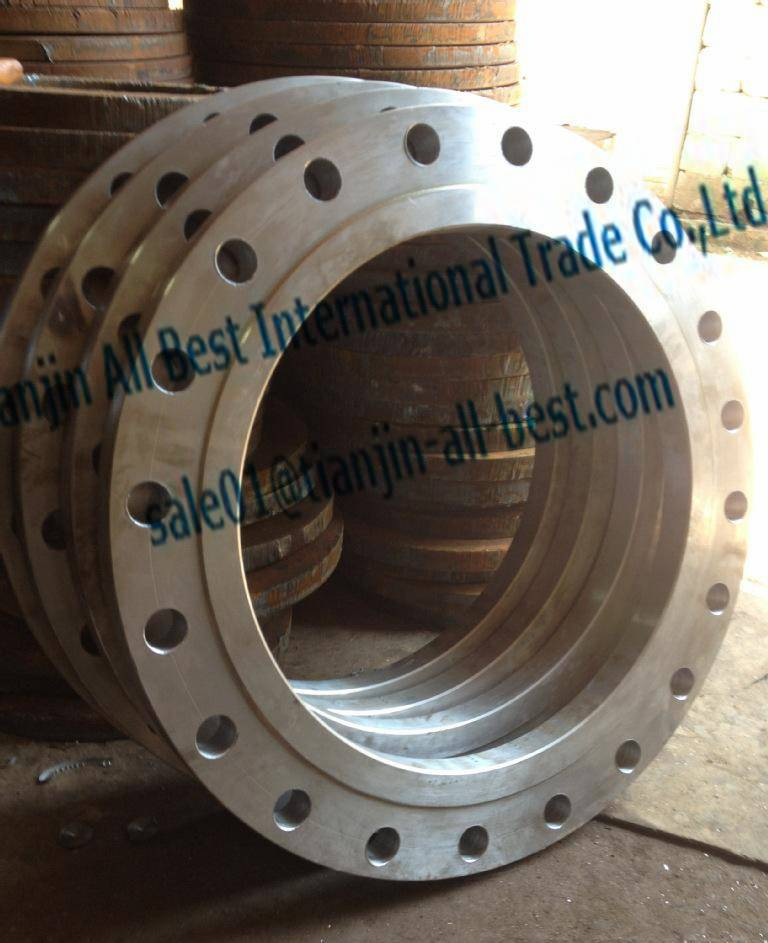 Stainless slip on flanges