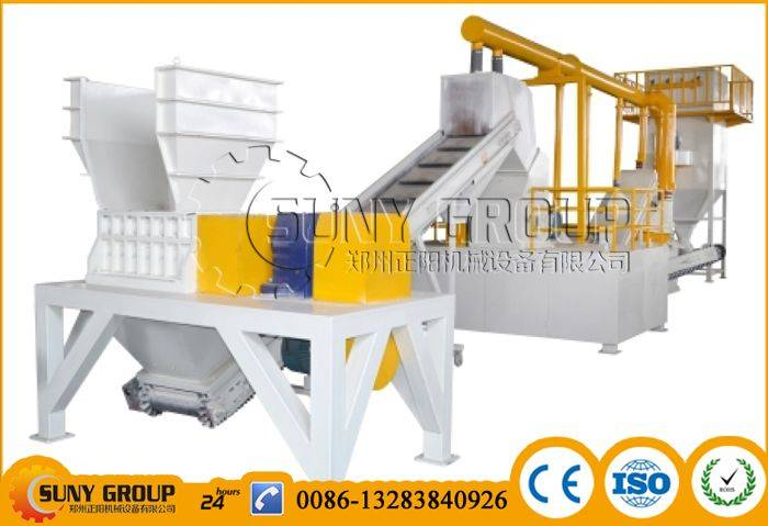 SRP-1000 Scrap radiator recycling production line