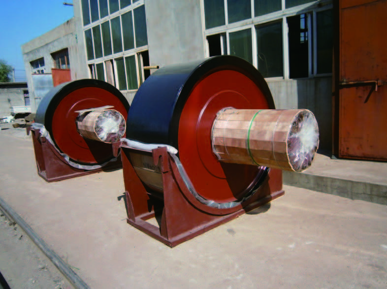 Support roller of rotary kiln
