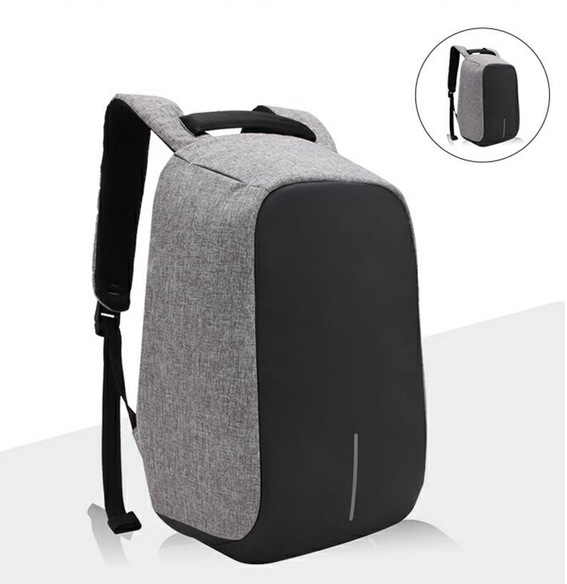 Mutifunctional anti-theft backpacks 15.6 inch waterproof fabric USD chargeable function