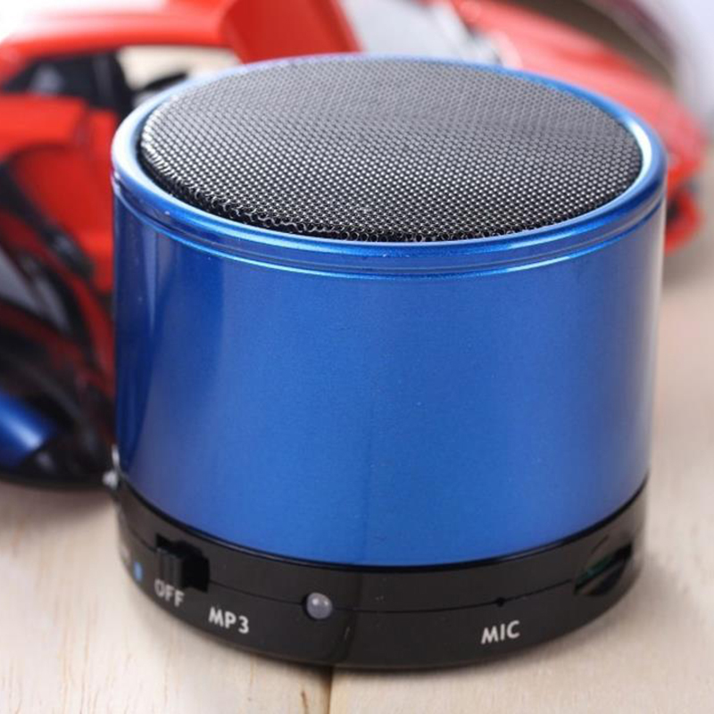 stereo mini metal bluetooth speaker hifi wireless handsfree with TF card