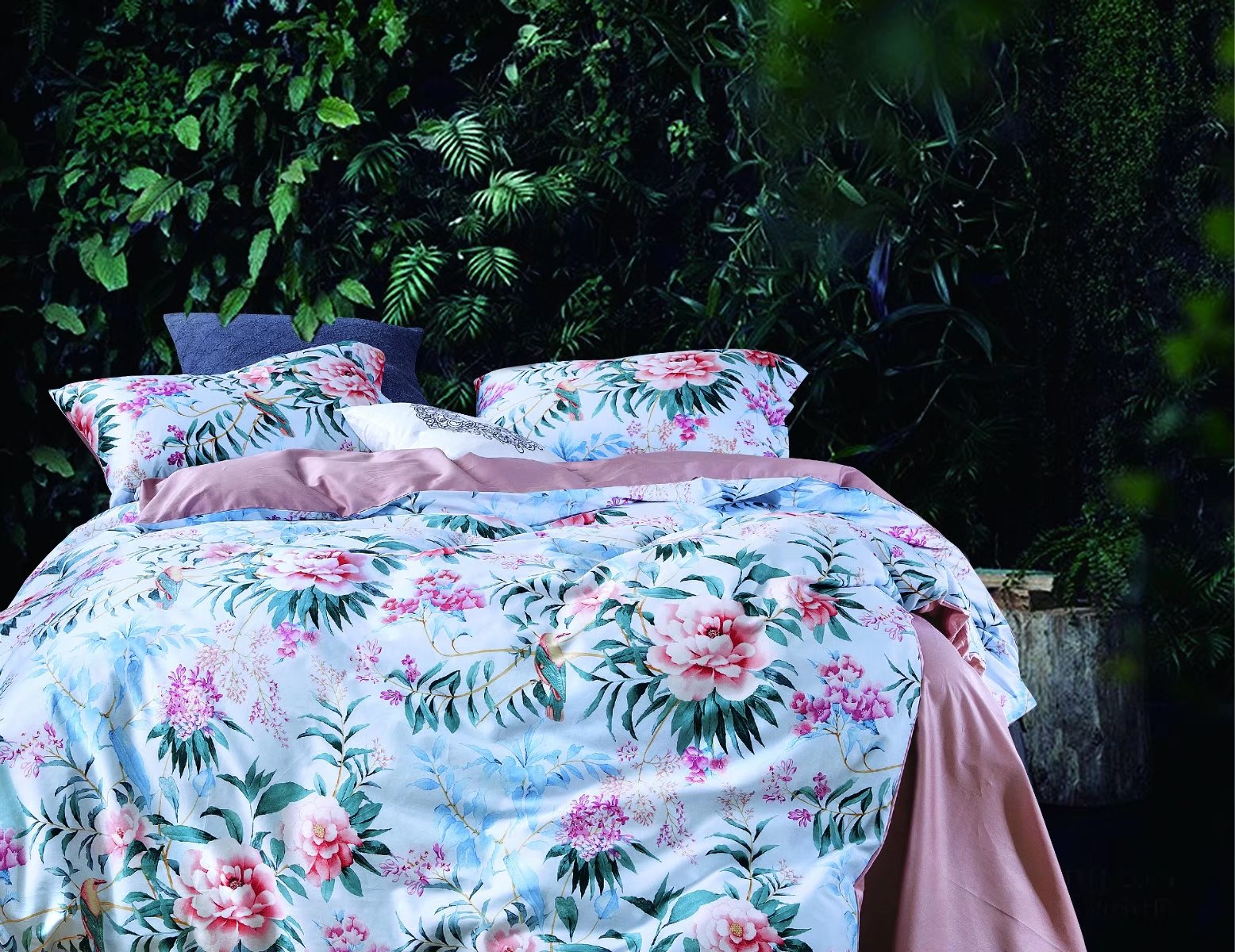 Premium 100% cotton French floral bed linen- CRMMS0022