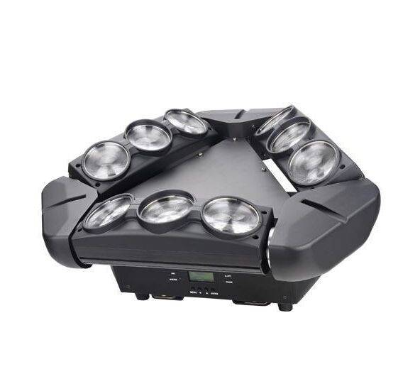 140W 9 Eyes RGBW 4in1 Cree 50,000Hrs Led Spider Beam Moving Head Light 10%off Free Shipping