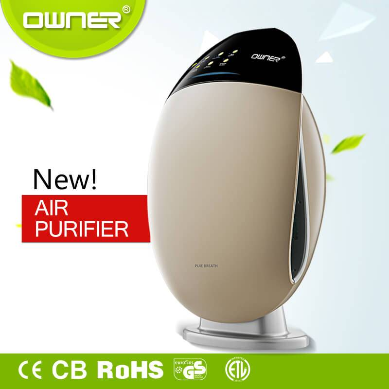 new products professional hepa filter home air purifier
