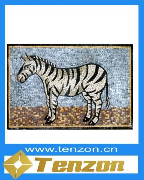 Playful Mosaic Art