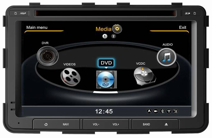 Ouchuangbo Ssangyoung Rexton multimedia radio DVD