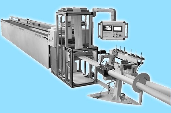 automatic needle felt filter bag seam welding machine line