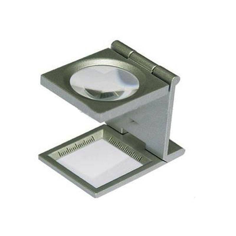 Folding Metal Linen Tester Magnfier