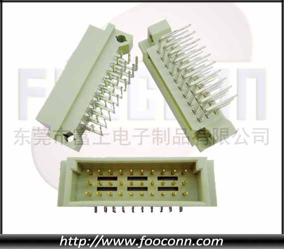 DIN41612 Connector 30Pin Male Right Angle DIP