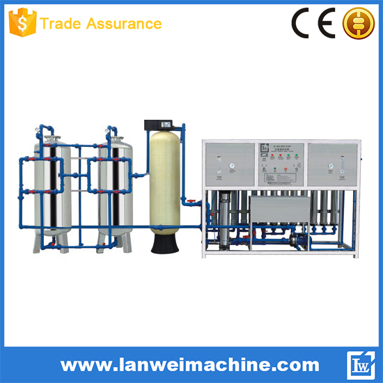 2000L/H Reverse Osmosis System Water Filtration Machine