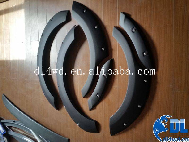 wheel arch flares for Ford Ecosport 2012 to 2015 fender flares