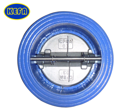 Wafer Type Dual Disc Check Valve