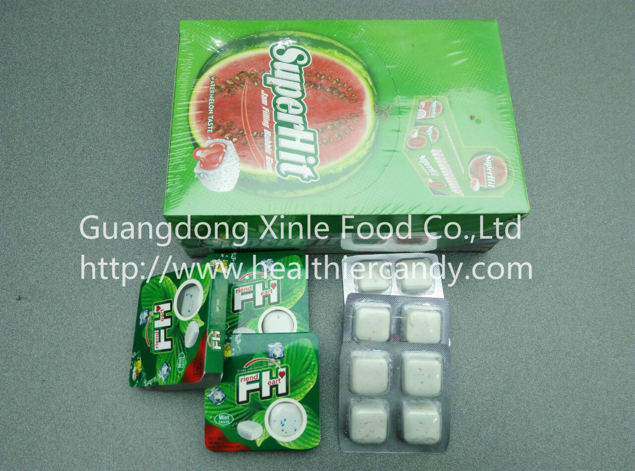 Hot Sale Cube Bubblegum Promotional chewing gum NiceTaste Cool Your mouth