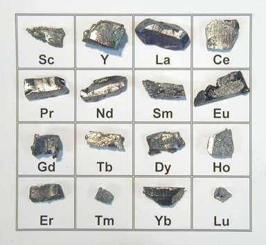 Metals and minerals