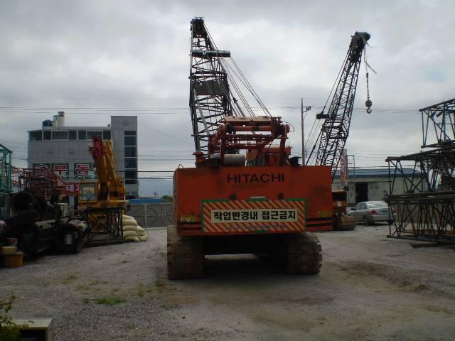 Hitachi 50 ton crawler crane (KH180-3)