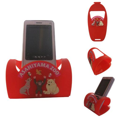 Mobile phone holder with sofv pvc Material