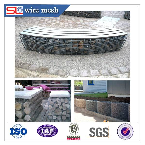 gabion stone basket / gabion basket prices (China Supplier)