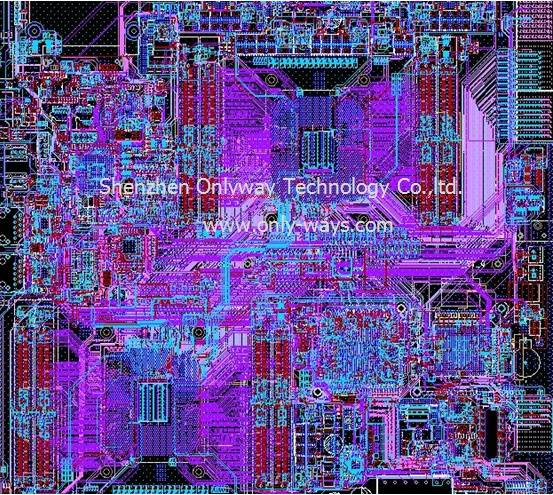 ATCA structure products pcb design,layout