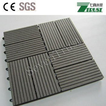 DIY Outdoor Wood Plastic Composite Decking (WPC) False Floor