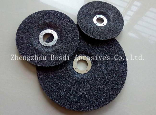 Abrasive grinding wheel black for metal