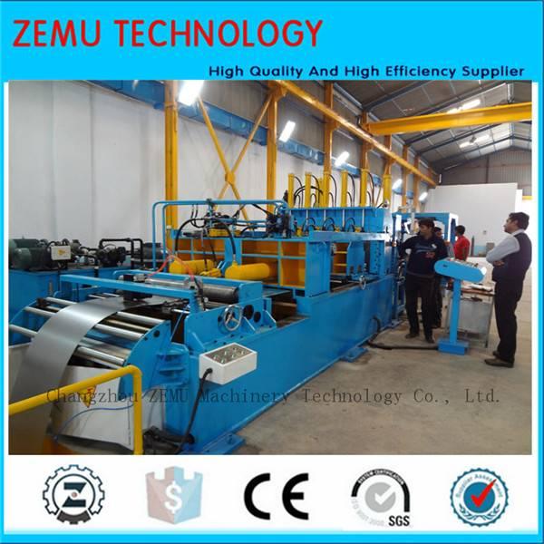 Transformer corrugated fin manufacturing