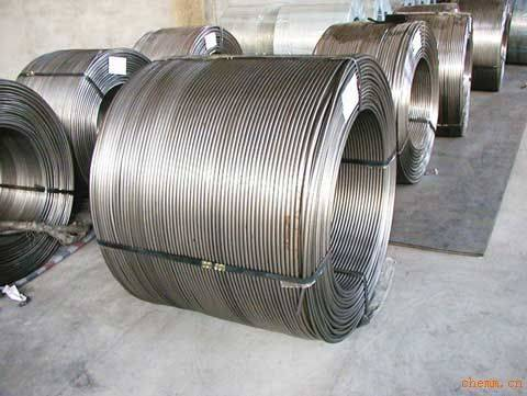CaSi Cored Wire for Steelmaking and Casting