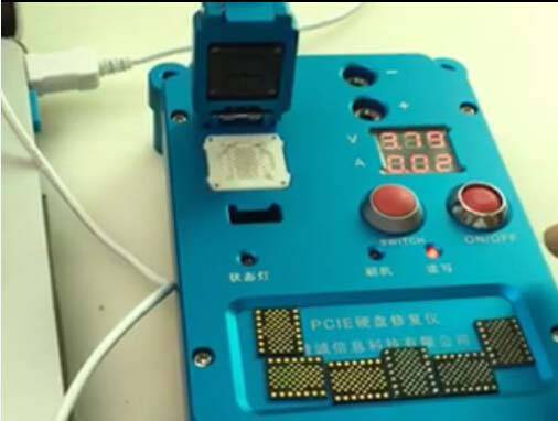 PCIE Nand repair machine for iphone 6S 6SP 5SE iPad Pro Nand