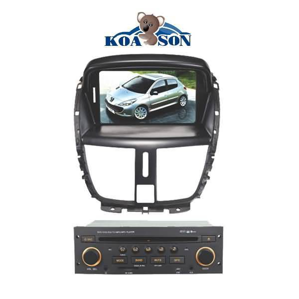 PEUGEOT 207 Car DVD GPS Player with 7-Inch Touch Screen/DTV(optional)/Radio(RDS)/Bluetooth/SD/GPS/Du