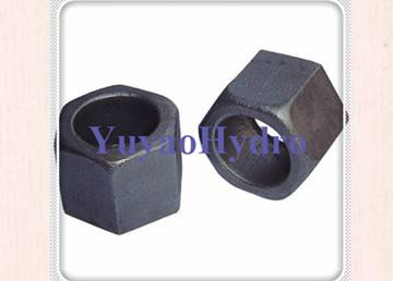 hot forging nut for hydraulic fittings_