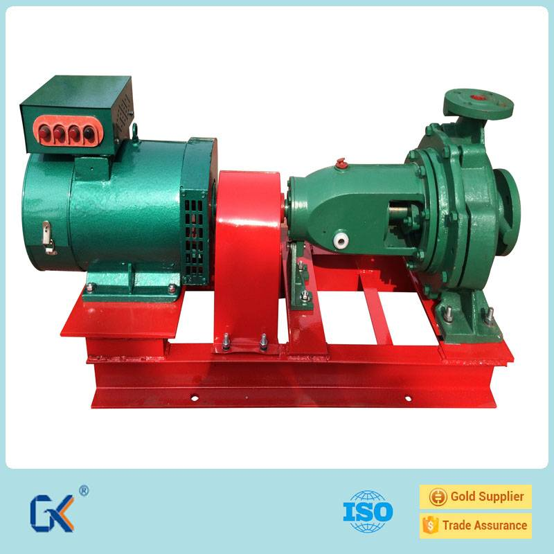 Radial Flow Turbine And Generator