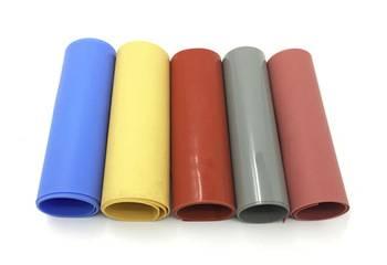 Fiberglass Thermal Rubber Insulation Materials Heat-Resistant Mat