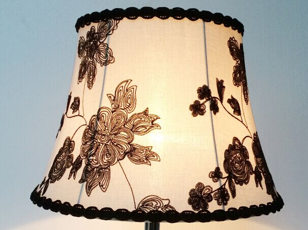 embroidery unique lamp shade